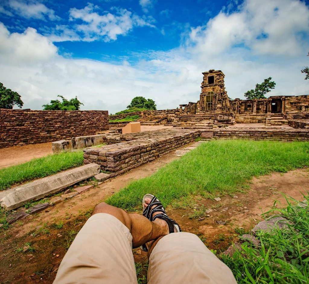Remains of India's Buddhist Monastery